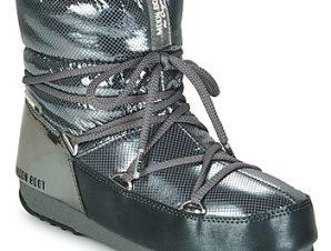 Μπότες για σκι Moon Boot MOON BOOT LOW SAINT MORITZ WP ΣΤΕΛΕΧΟΣ: Συνθετικό και ύφασμα & ΕΠΕΝΔΥΣΗ: Ύφασμα & ΕΣ. ΣΟΛΑ: & ΕΞ. ΣΟΛΑ: Καουτσούκ