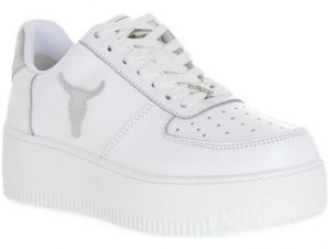 Sneakers Windsor Smith RICH BRAVE WHITE SILVER PERLISHED