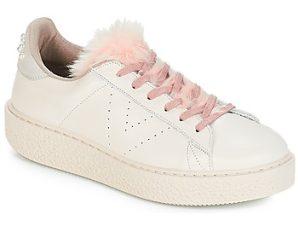 Xαμηλά Sneakers Victoria DEPORTIVO PIEL PERLAS ΣΤΕΛΕΧΟΣ: Δέρμα & ΕΠΕΝΔΥΣΗ: Ύφασμα & ΕΣ. ΣΟΛΑ: Δέρμα & ΕΞ. ΣΟΛΑ: Συνθετικό