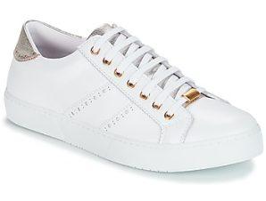 Xαμηλά Sneakers André BERKELEY ΣΤΕΛΕΧΟΣ: Δέρμα & ΕΠΕΝΔΥΣΗ: Ύφασμα & ΕΣ. ΣΟΛΑ: Δέρμα & ΕΞ. ΣΟΛΑ: Καουτσούκ