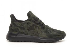 Ανδρικά πράσινα αθλητικά παπούτσια παραλλαγής